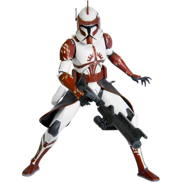Exclusive Star Wars Clone Wars Commander Fox ArtFX Statue Preorder