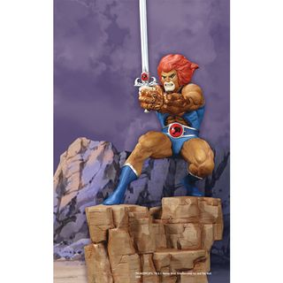 Thundercats 2010 Cast on Statue From The Long Awaited Thundercats   Lion O  This Cold Cast
